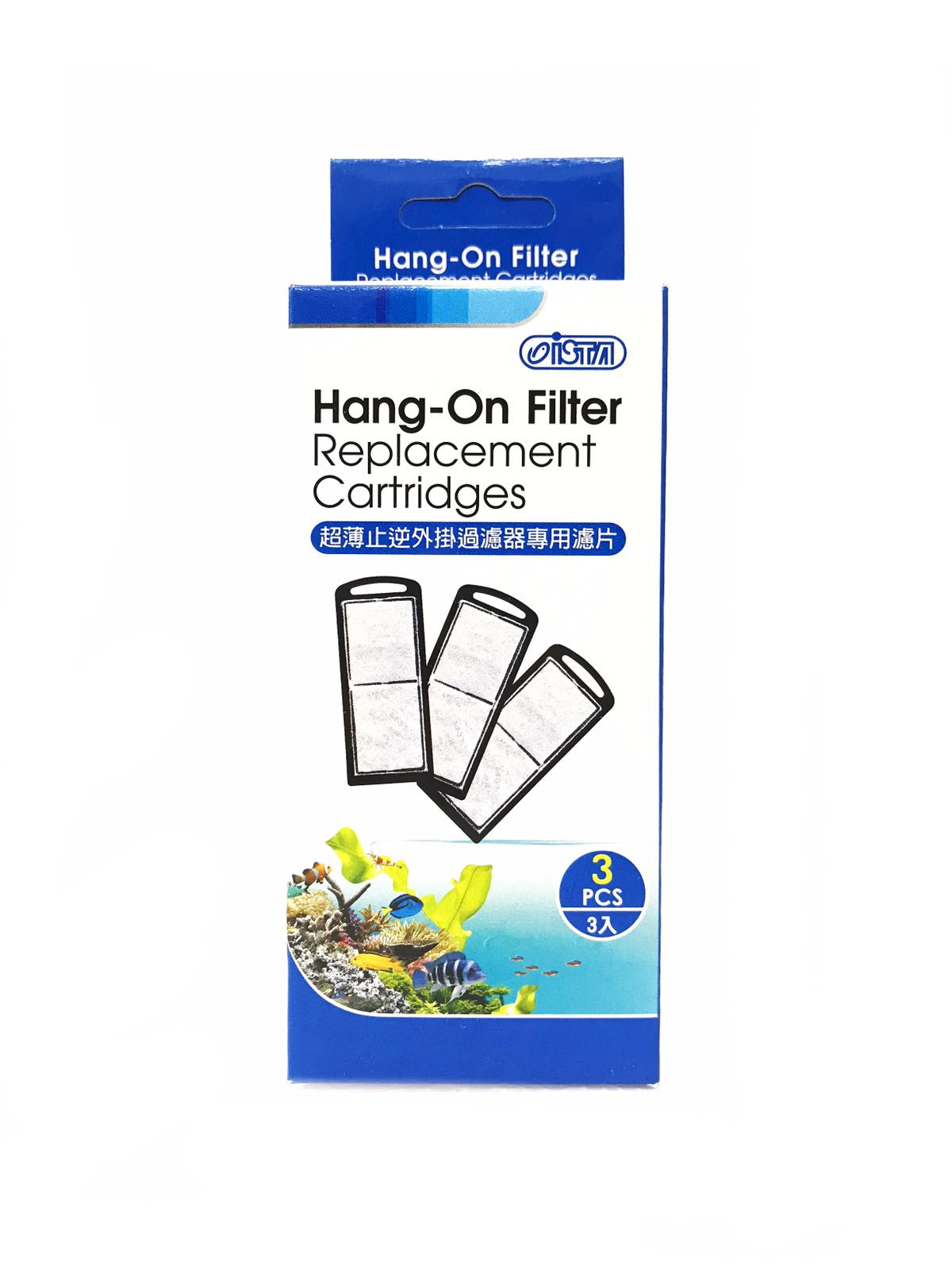 Ista  Hang-On Filter Slim Replacement Cartridge  (3 Pcs/Pack)
