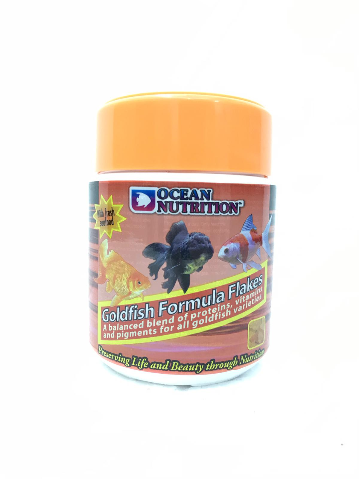 Ocean Nutrition Goldfish Flakes
