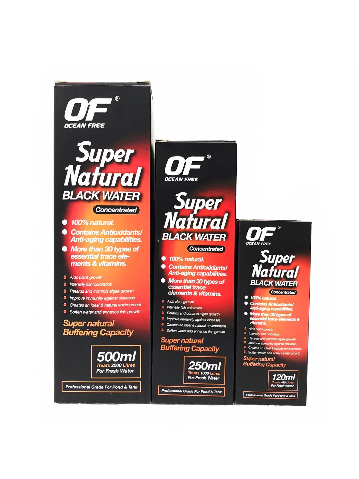 OF Super Natural Black Water
