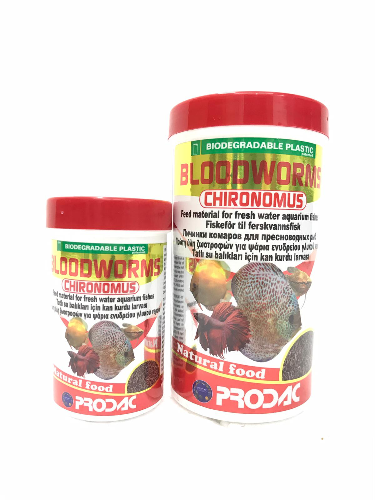 Prodac Bloodworms Chironomus