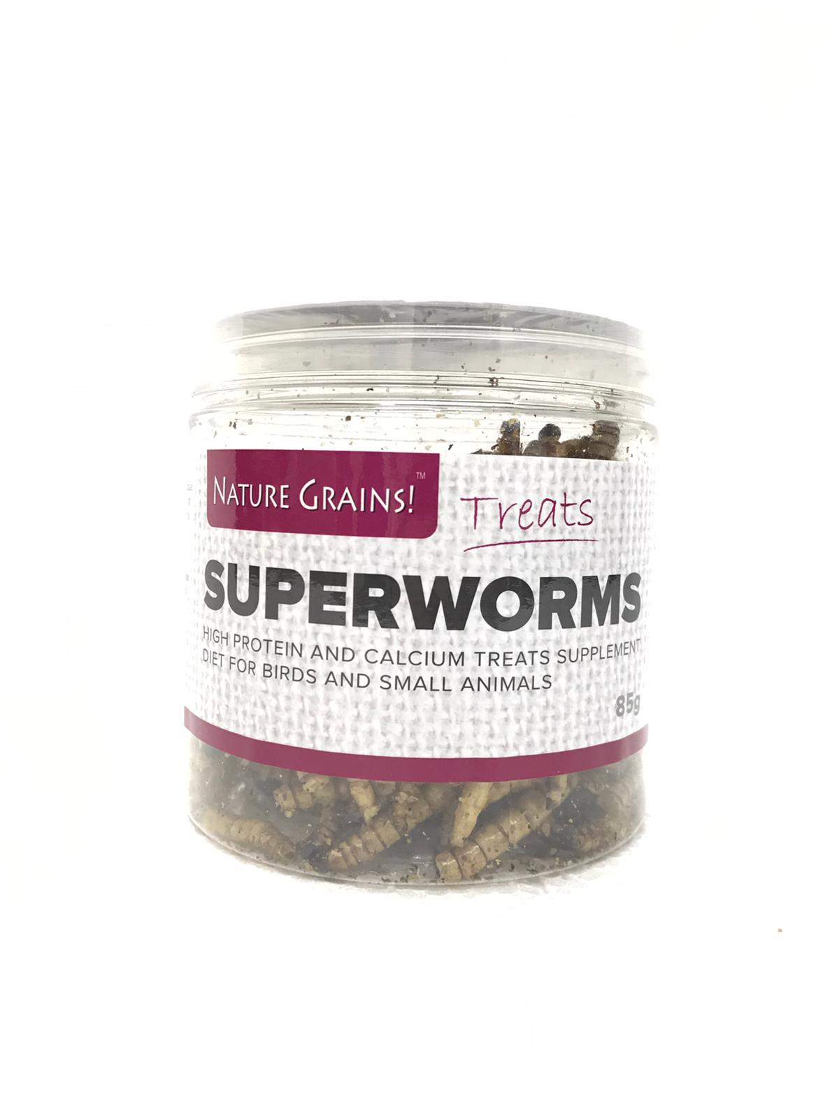 Nature Grains Dry Superworms