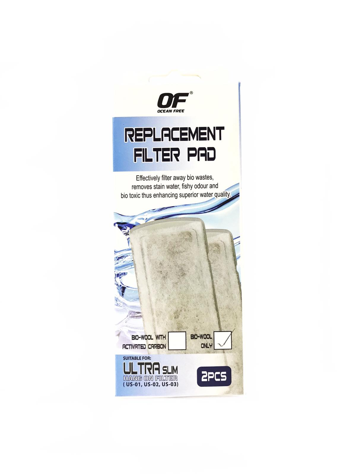 OF Replacement Filter Pad  (2 Pcs/Pack)