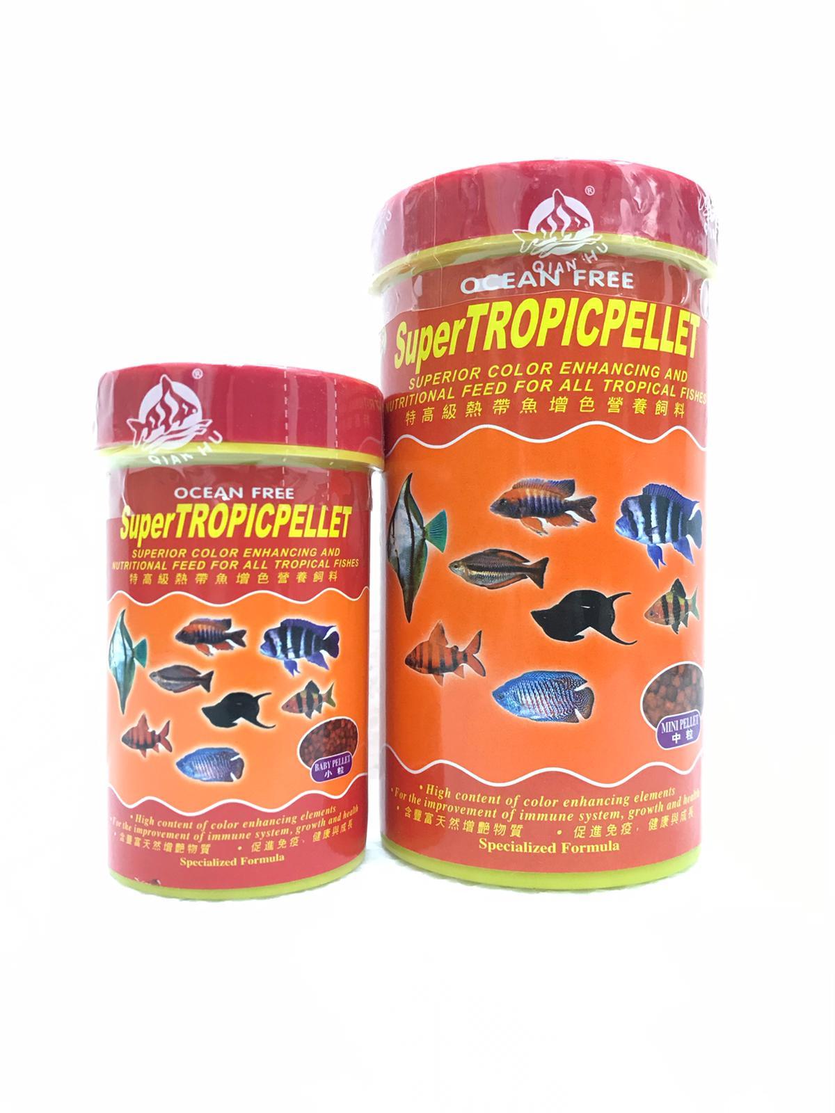 OF Super Tropicpellet Superior Color Enhancing