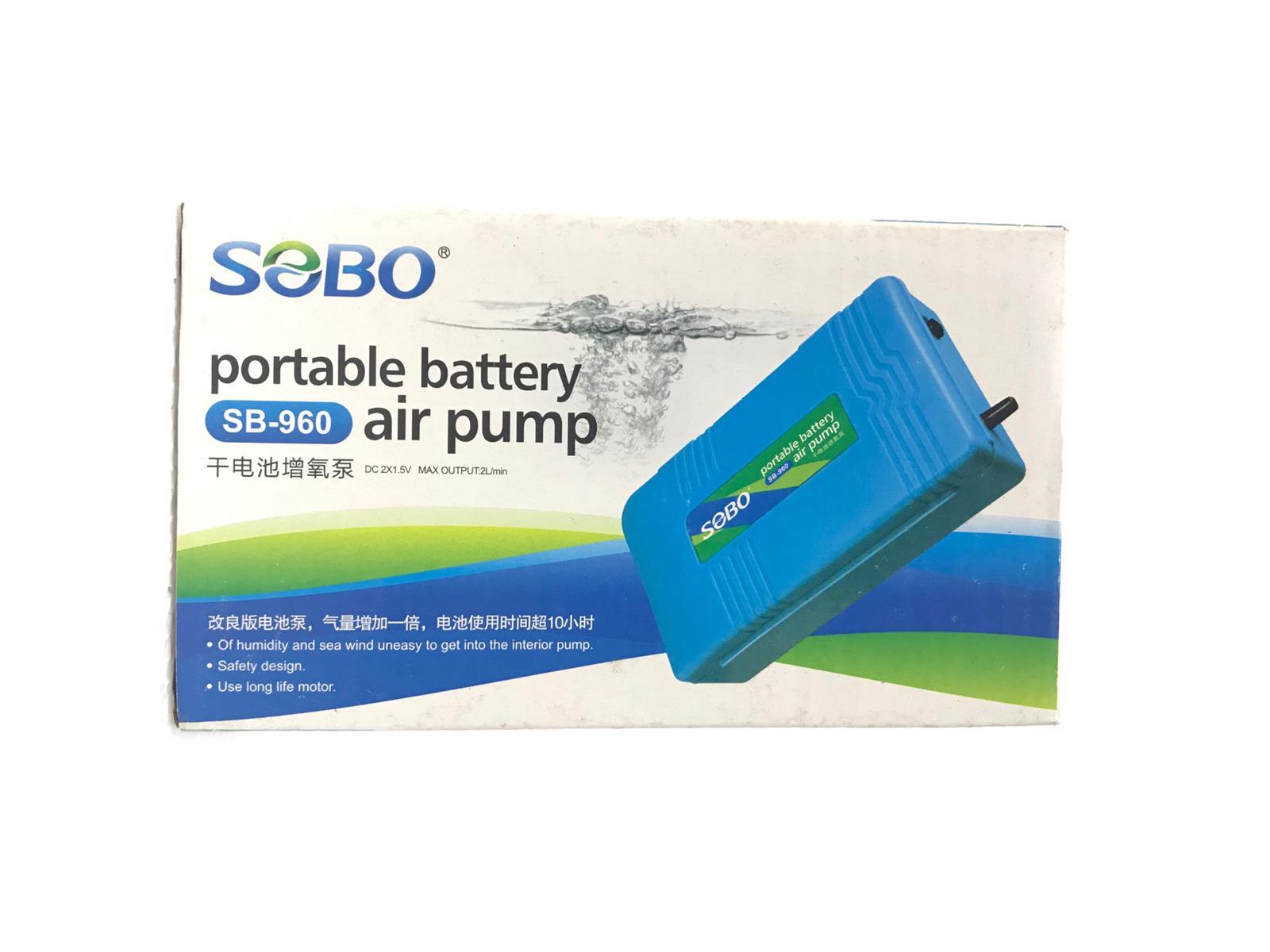 Sobo Portable Battery Air Pump SB Series