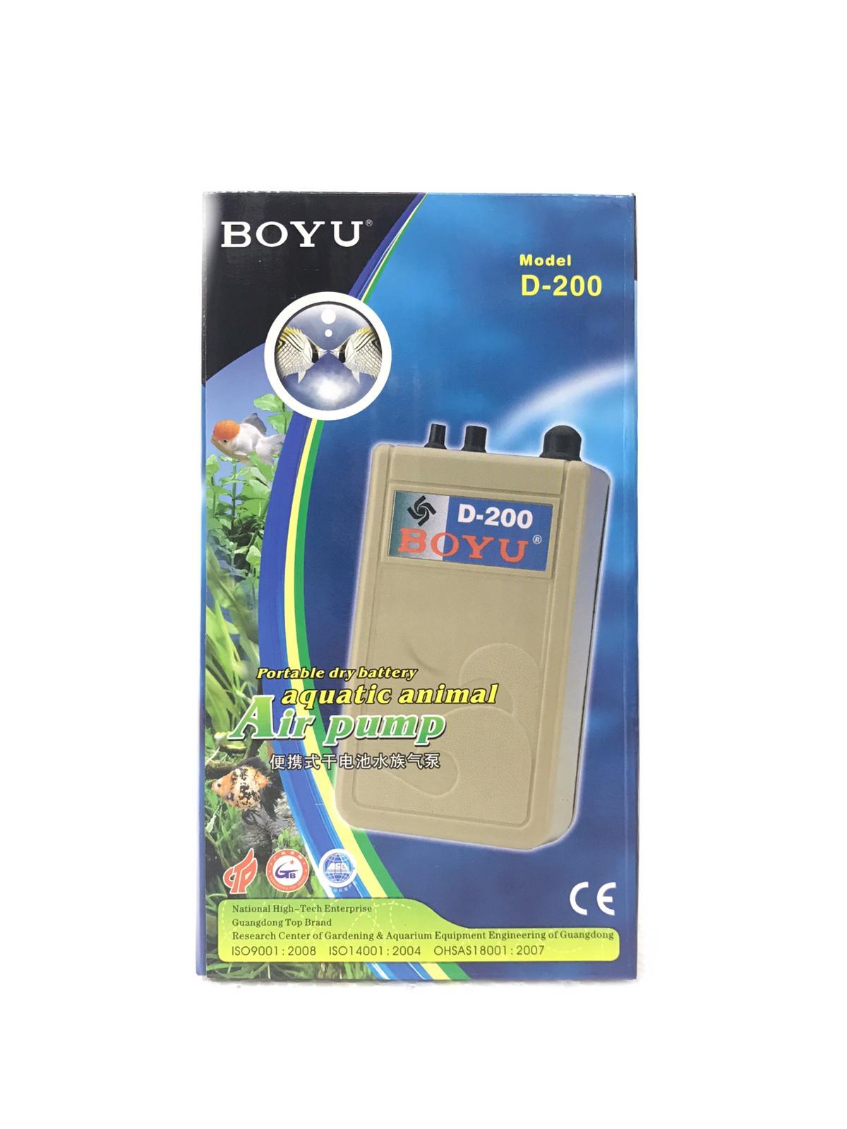 Boyu Portable Dry Battery Air Pump