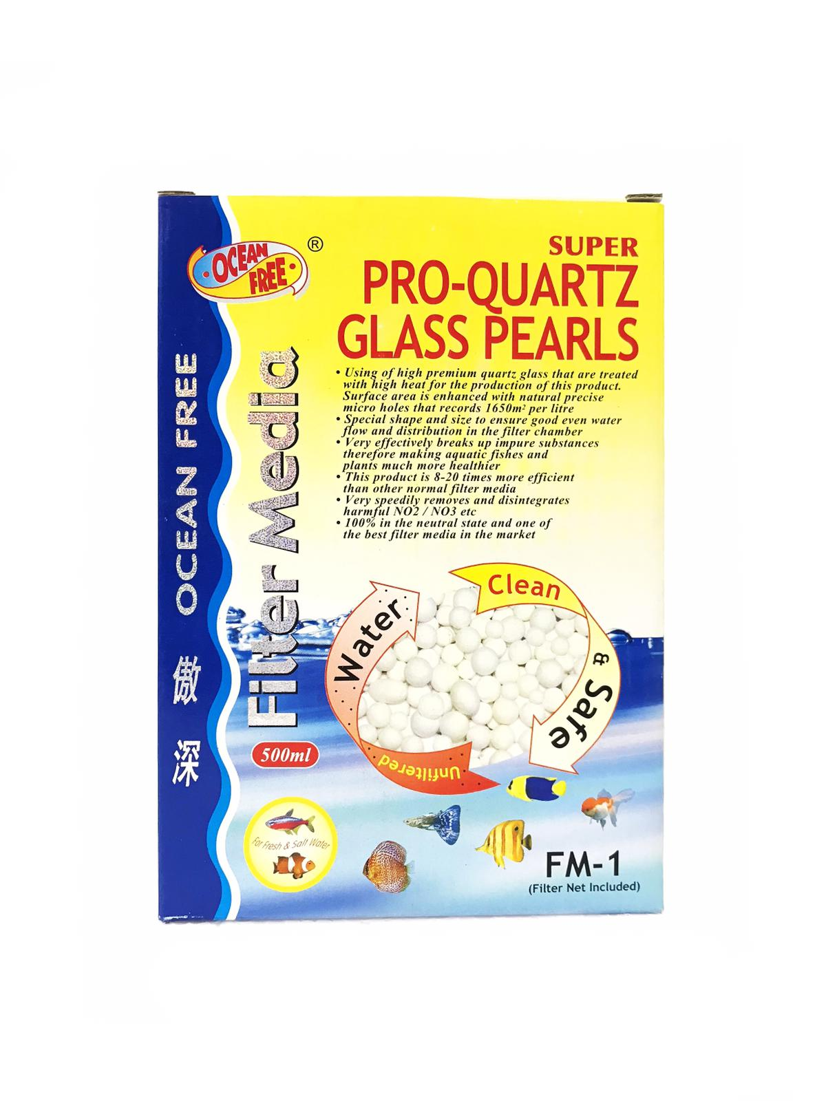 OF Super Pro-Quartz Glass Pearls FM-1