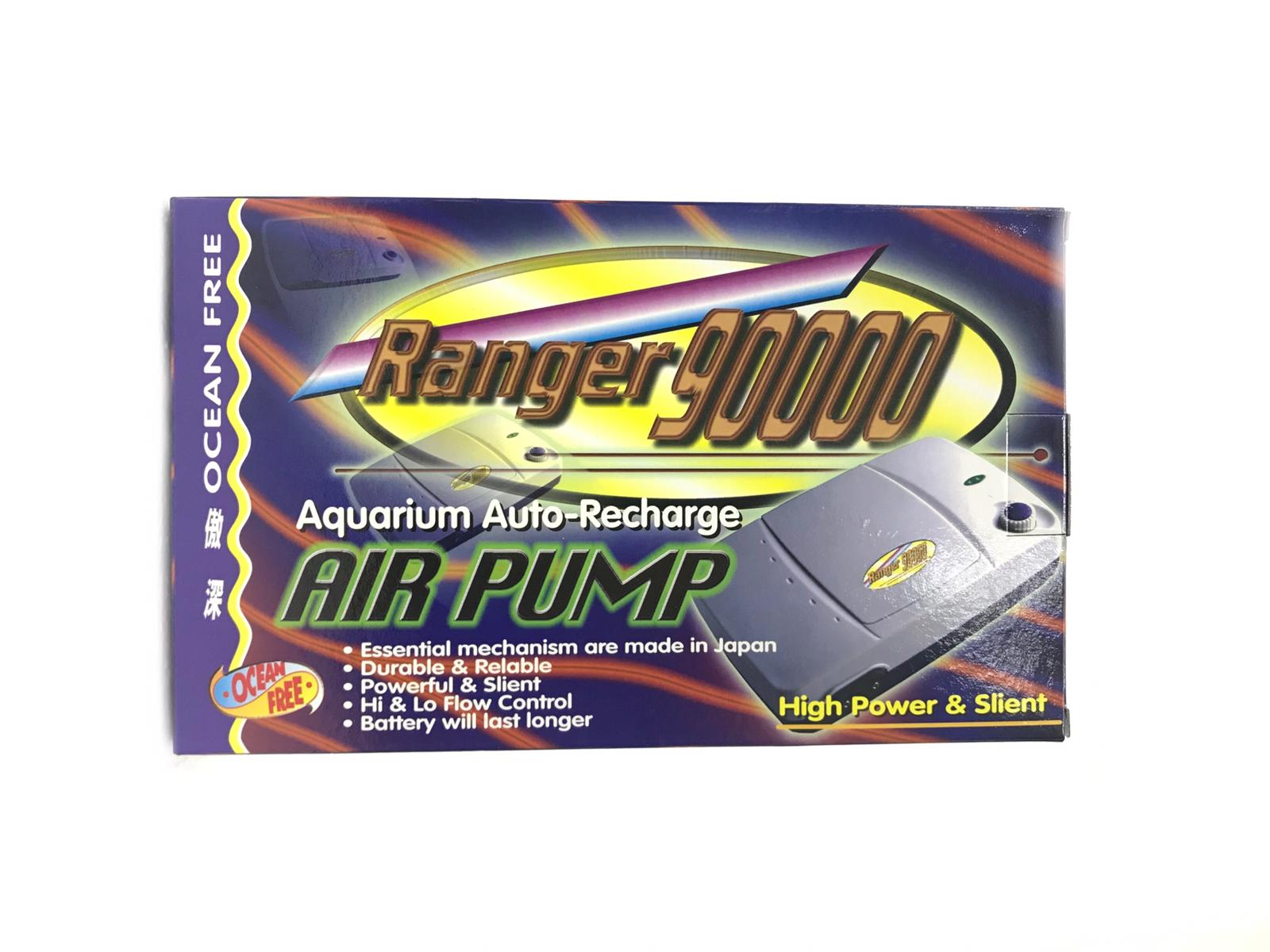 OF Aquarium Auto-Recharge Air Pump Ranger 90000
