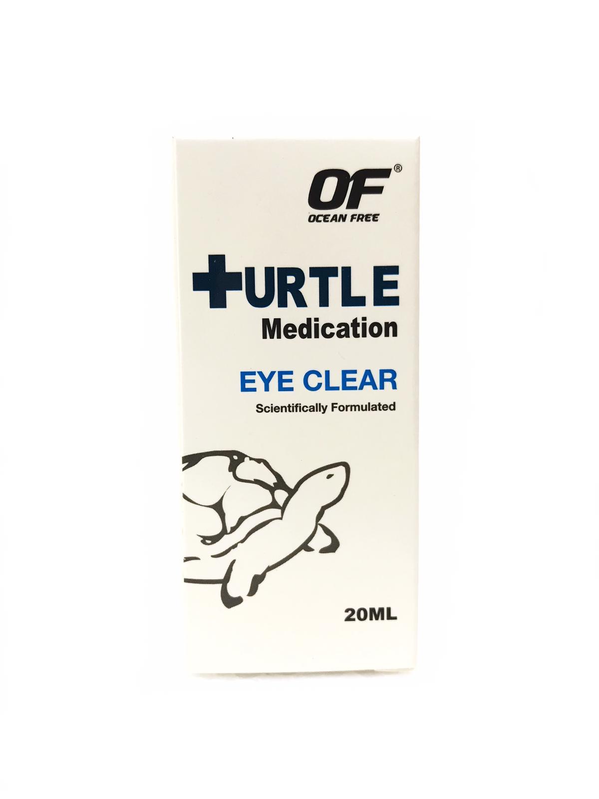 OF Turtle Medication Eye Clear