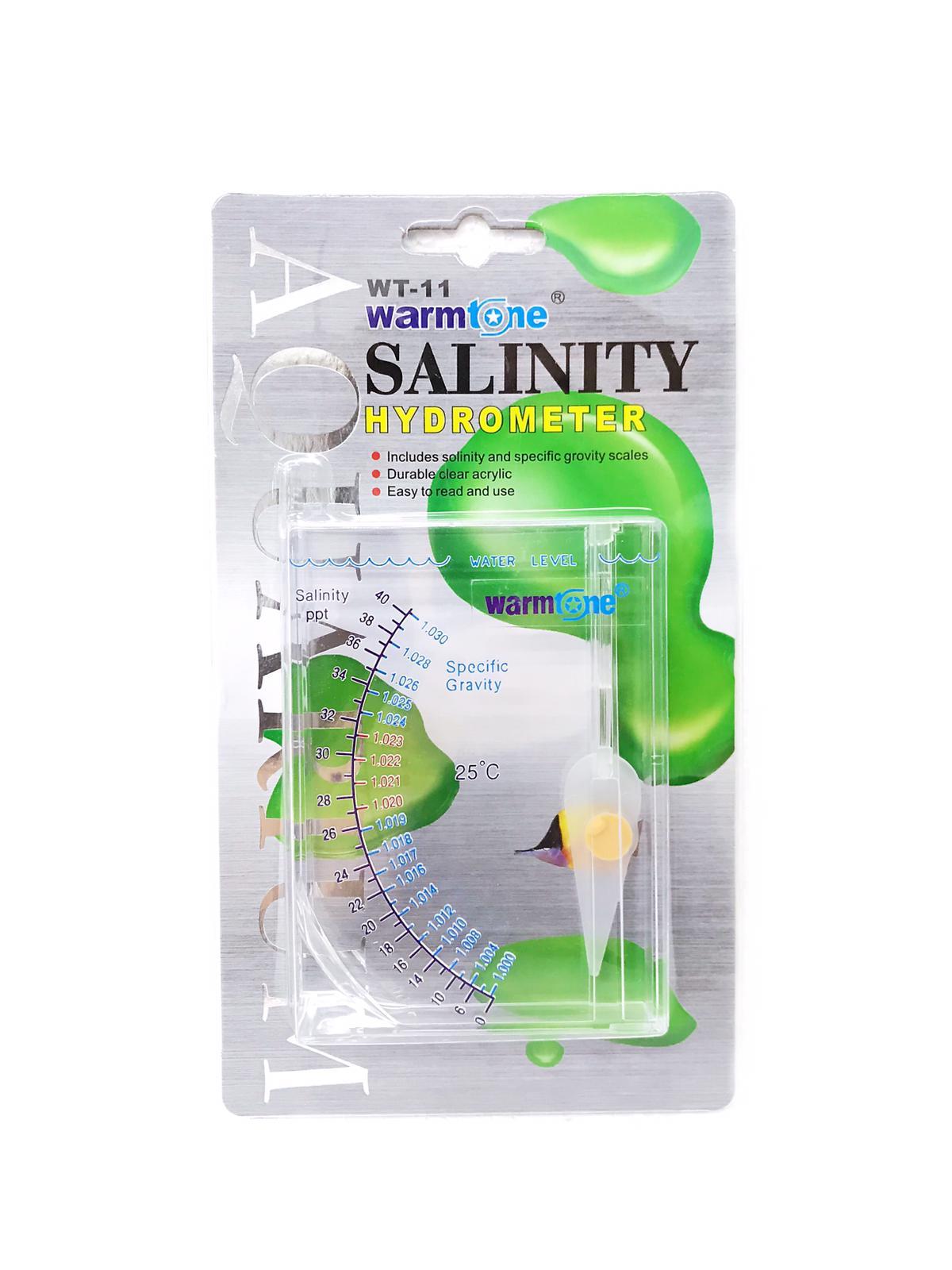 Warmtone Salinity Hydrometer