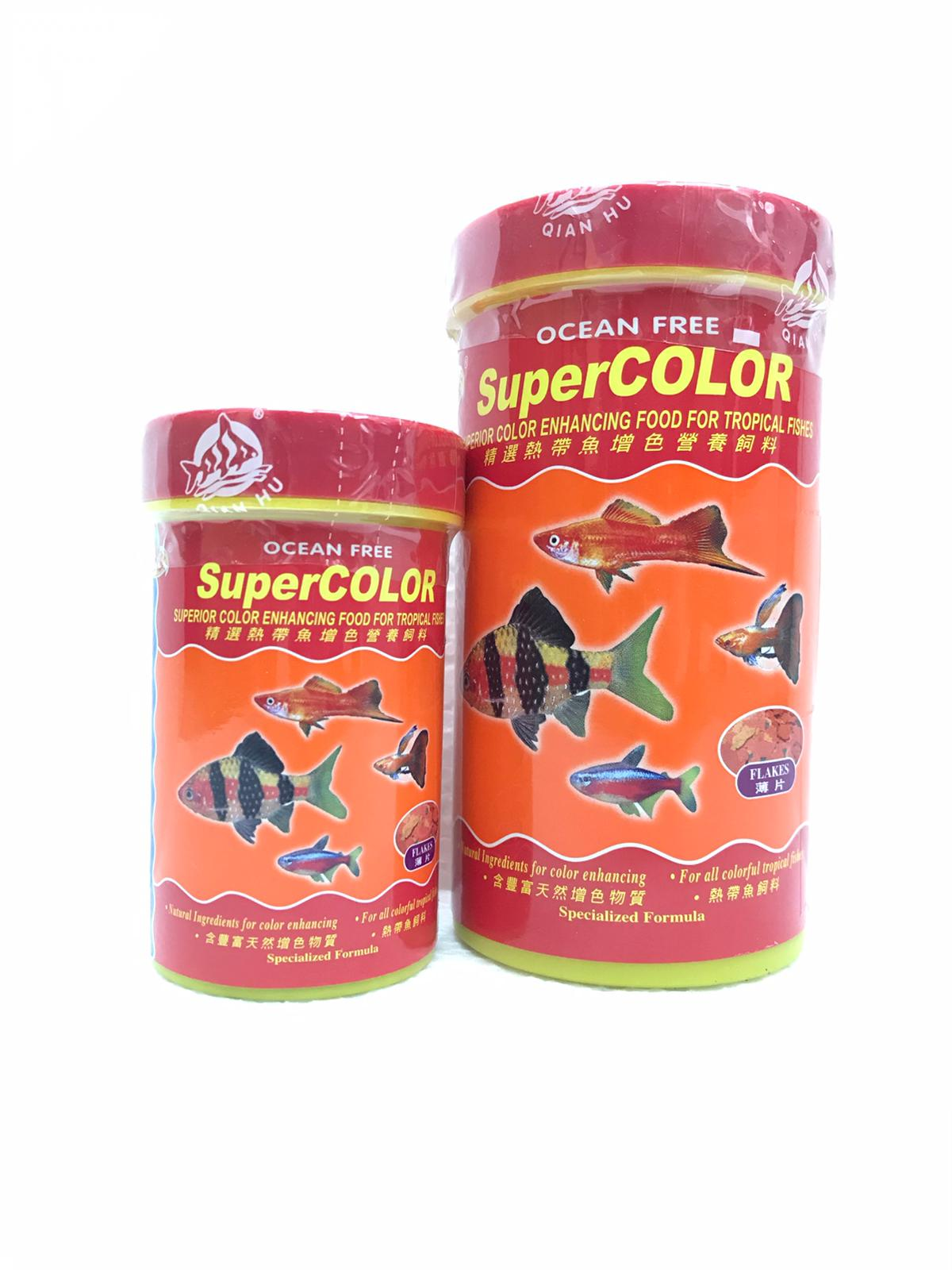 OF Super Color Superior Color Enhancing Food