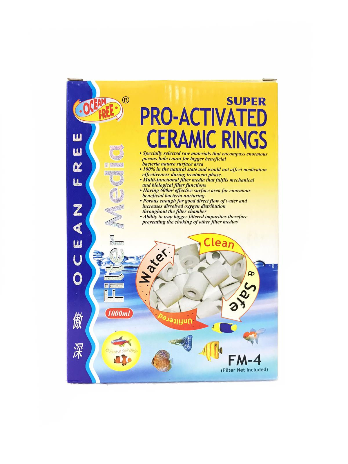 OF Super Pro-Activated Ceramic Rings FM-4