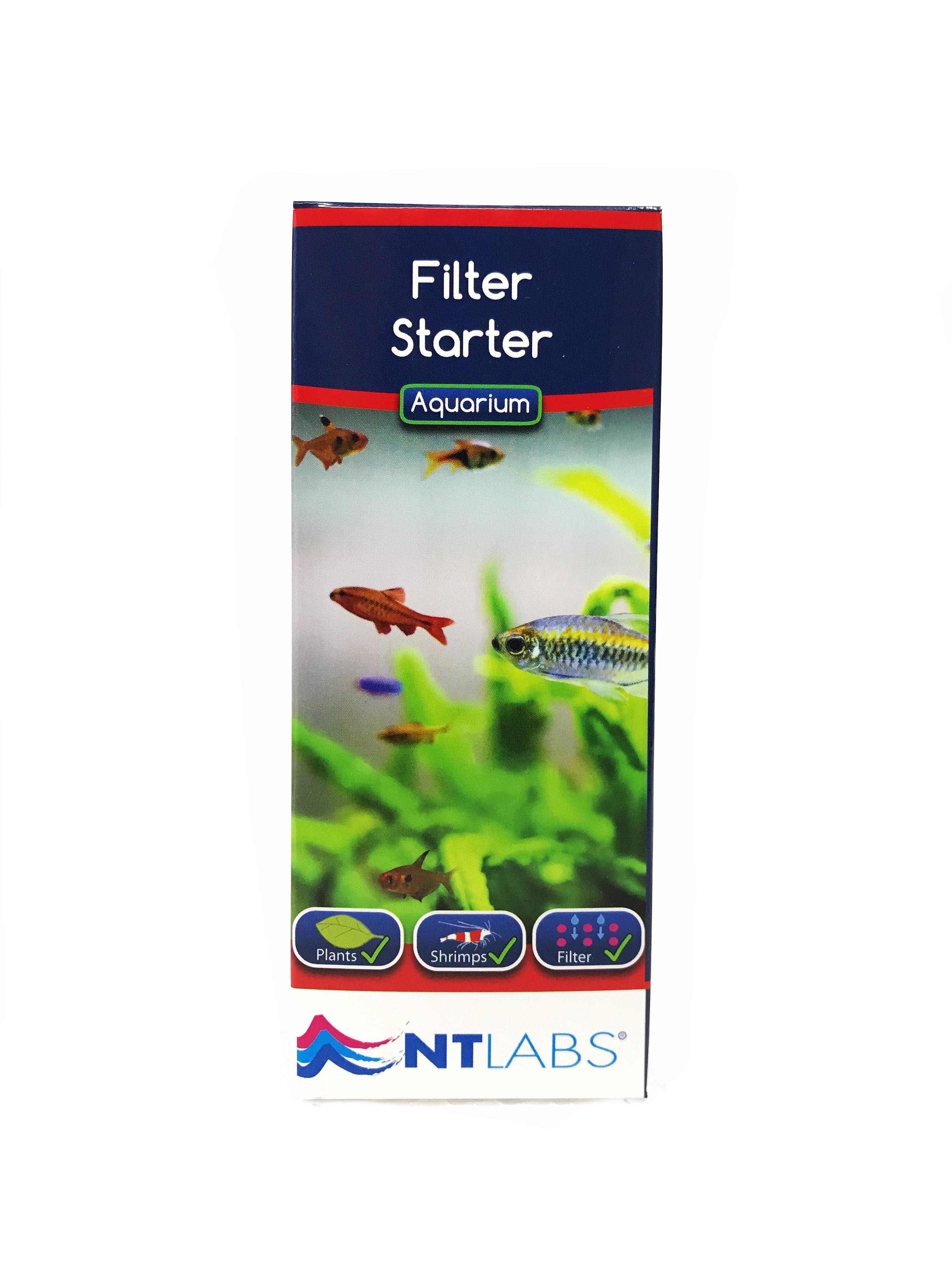 NT Labs Aquarium Filter Starter