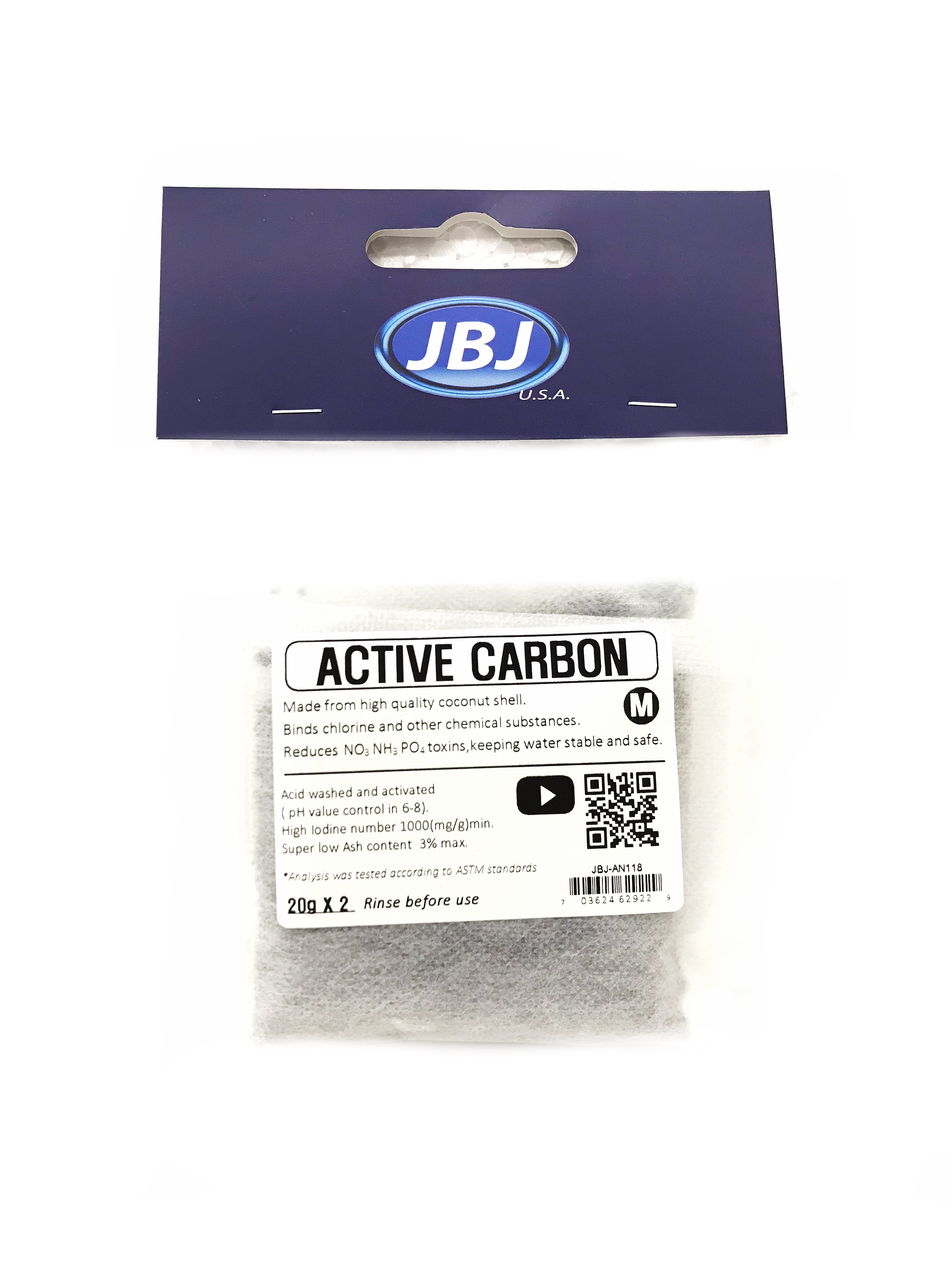 JBJ Active Carbon (20g x 2)
