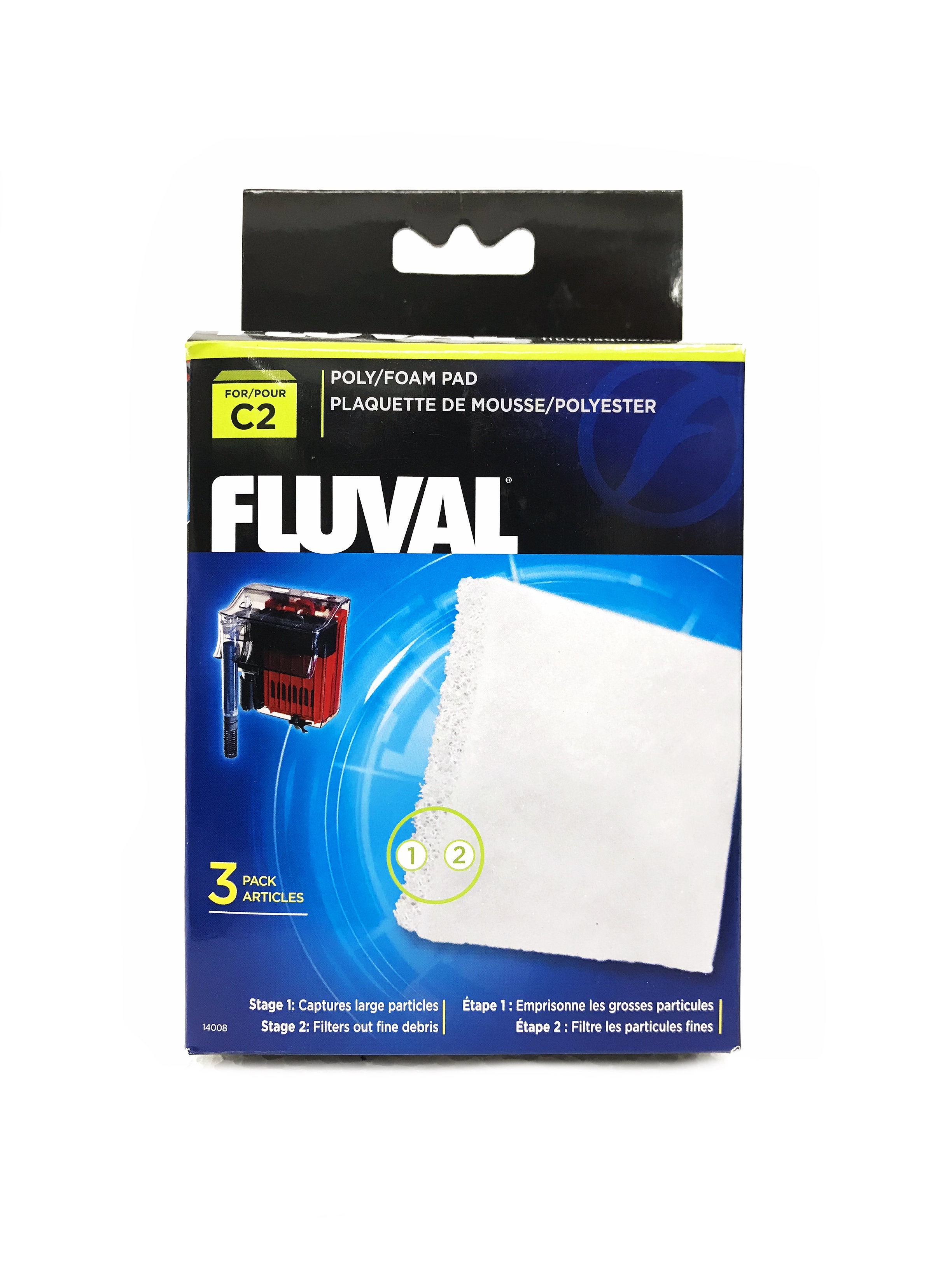 Fluval C2 Poly Foam Pad   (3 Pcs/Pack)