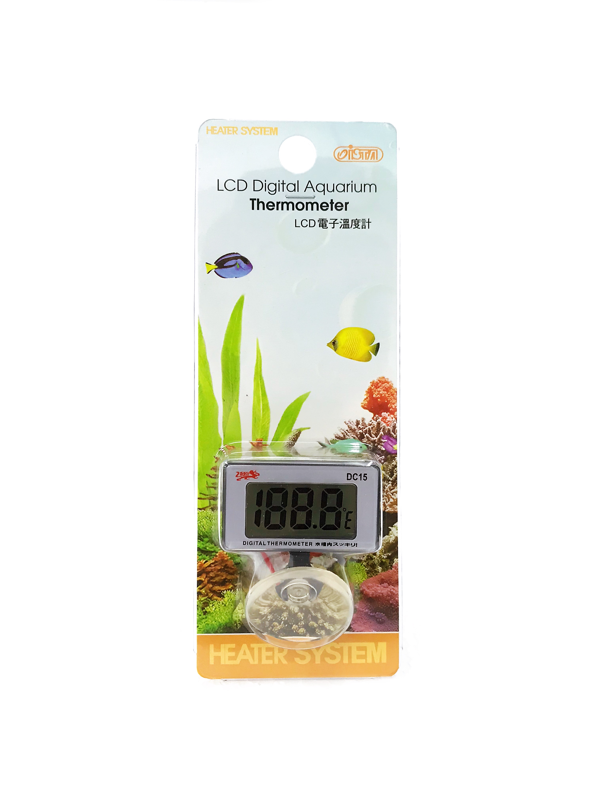 Ista Lcd Digital Aquarium Thermometer
