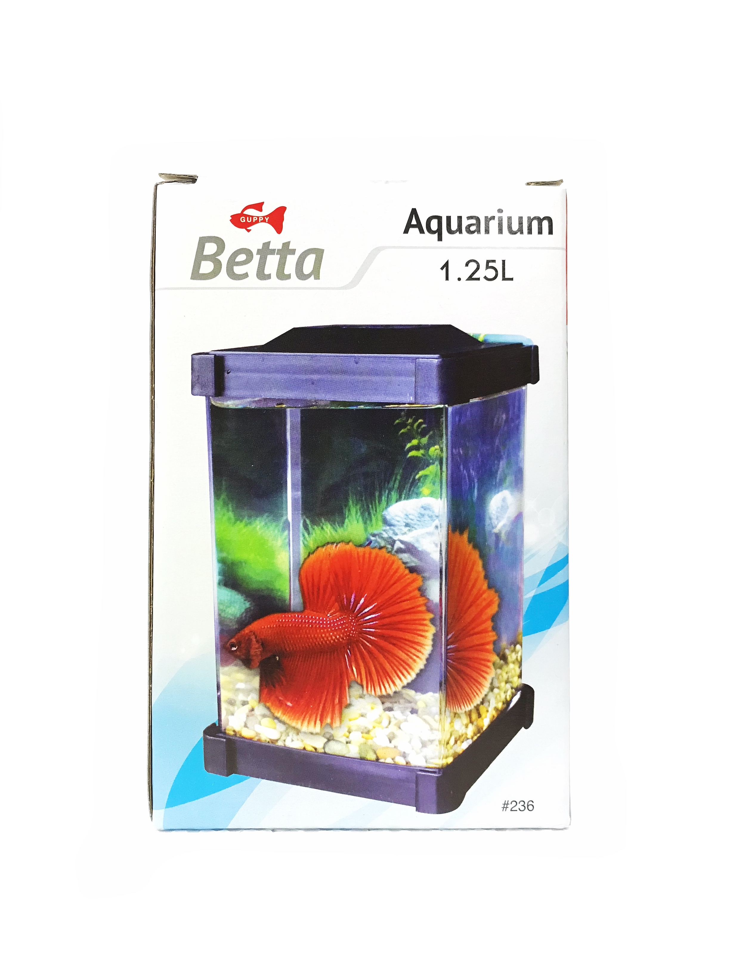 Guppy Betta Aquarium 1.25 Litres