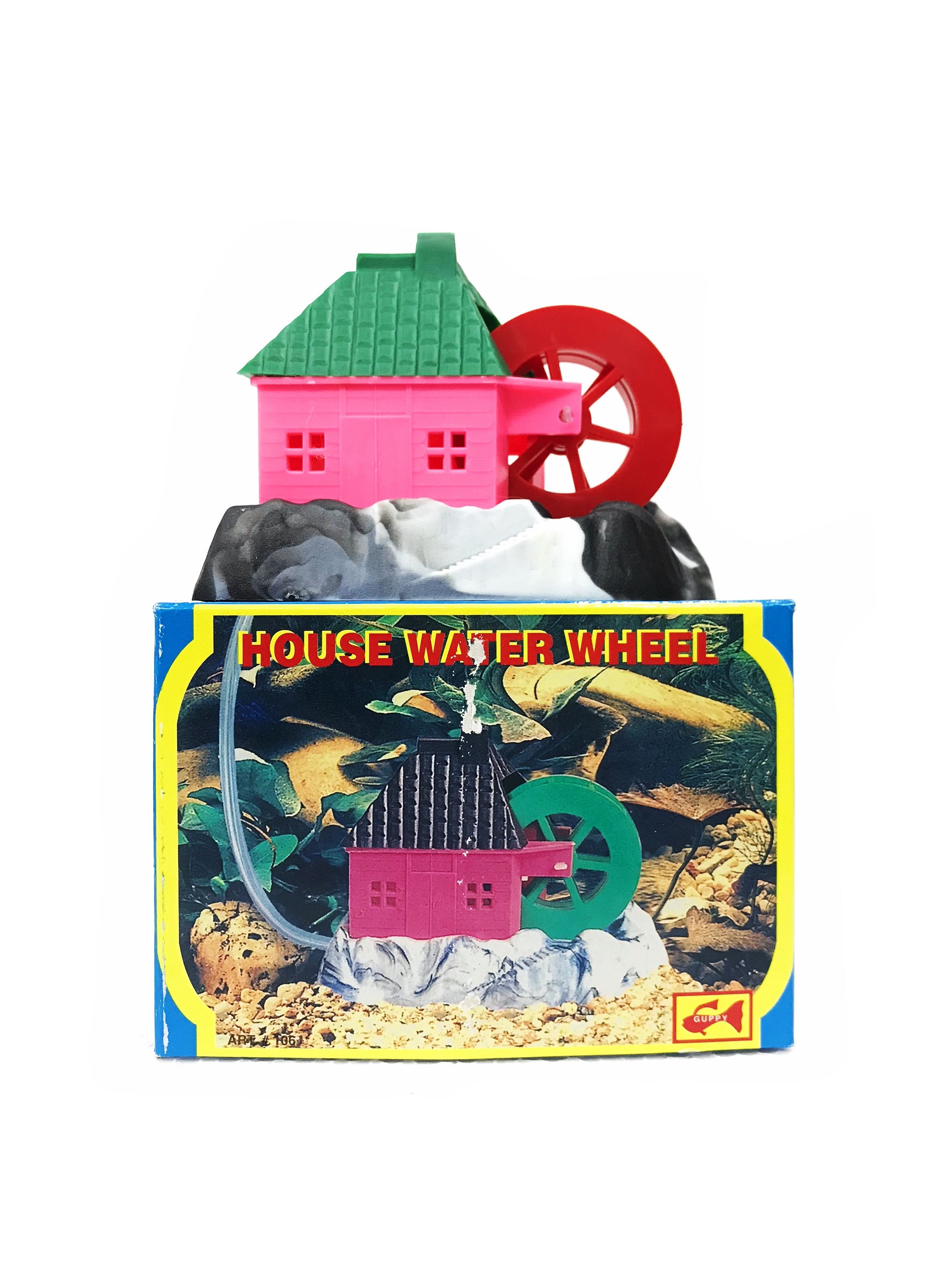 Guppy House Water Wheel
