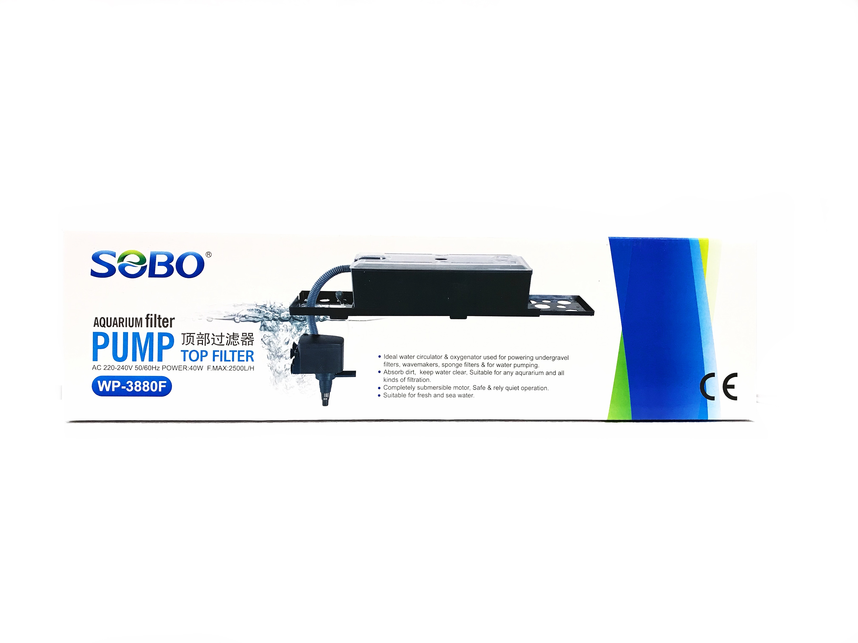 Sobo Top Filter WP-3880F