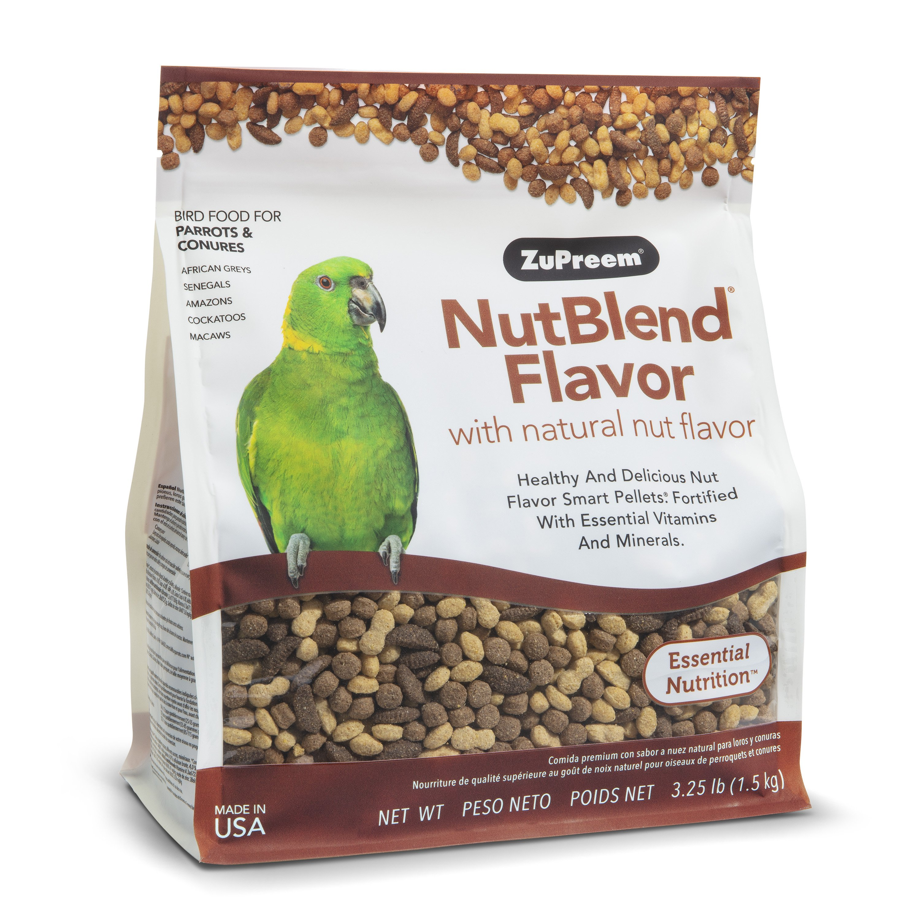 Zupreem NutBlend For Parrots & Conures