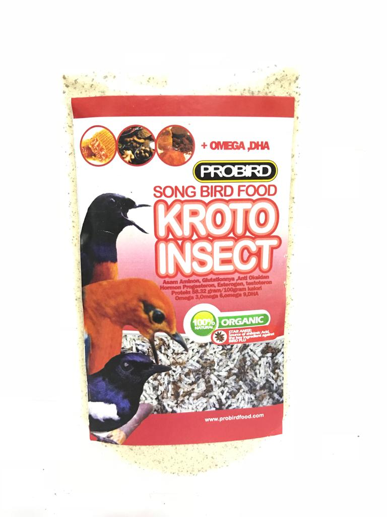 Probird Song Bird Food (Kroto Insect)