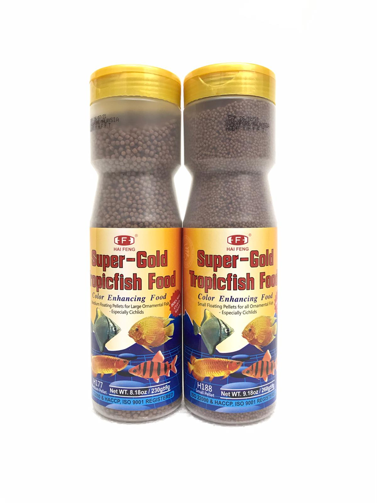 Hai Feng Super Gold Tropical Fish Food