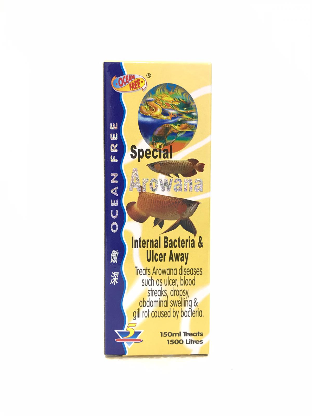 OF Special Arowana Internal Bacteria And Ulcer Away  5
