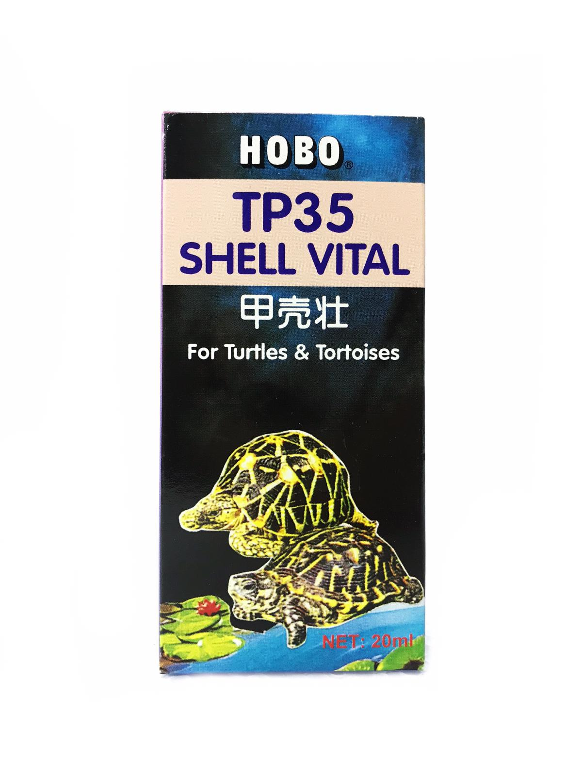 Hobo TP35 Shell Vital For Turtles And Vital