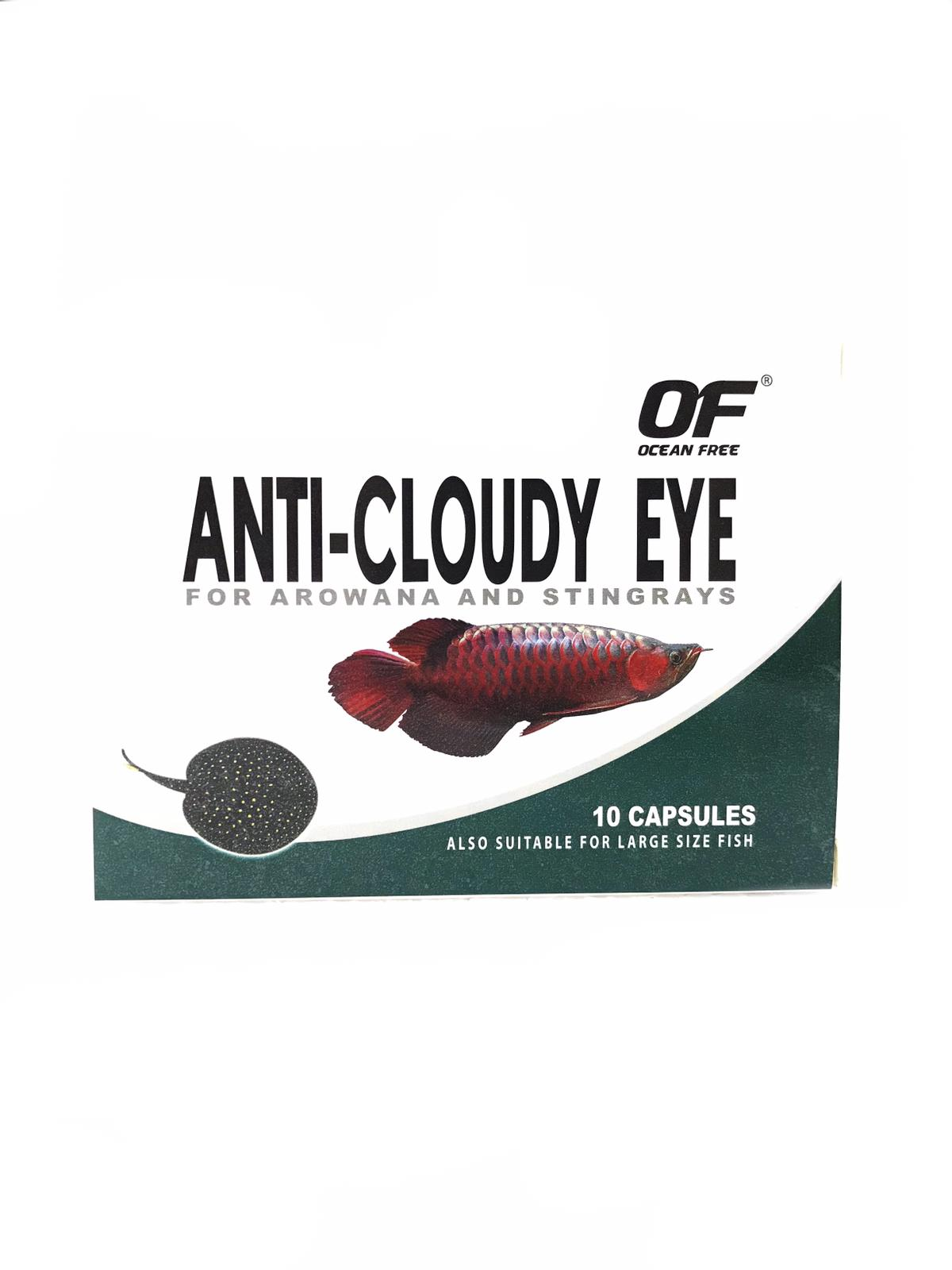 OF Anti-Cloudy Eye For Arowana And Stingray