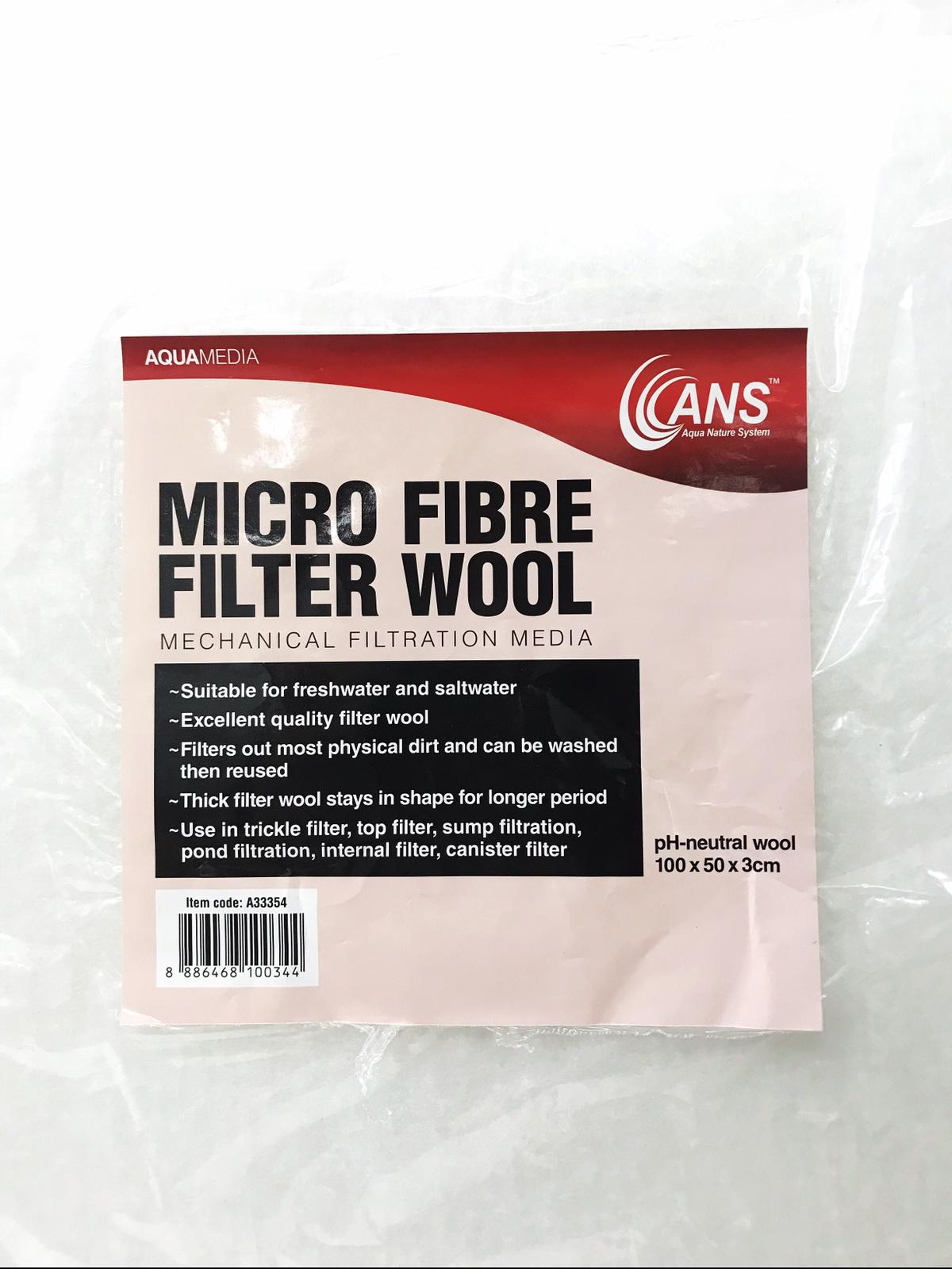 Ans Micro Fibre Filter Wool