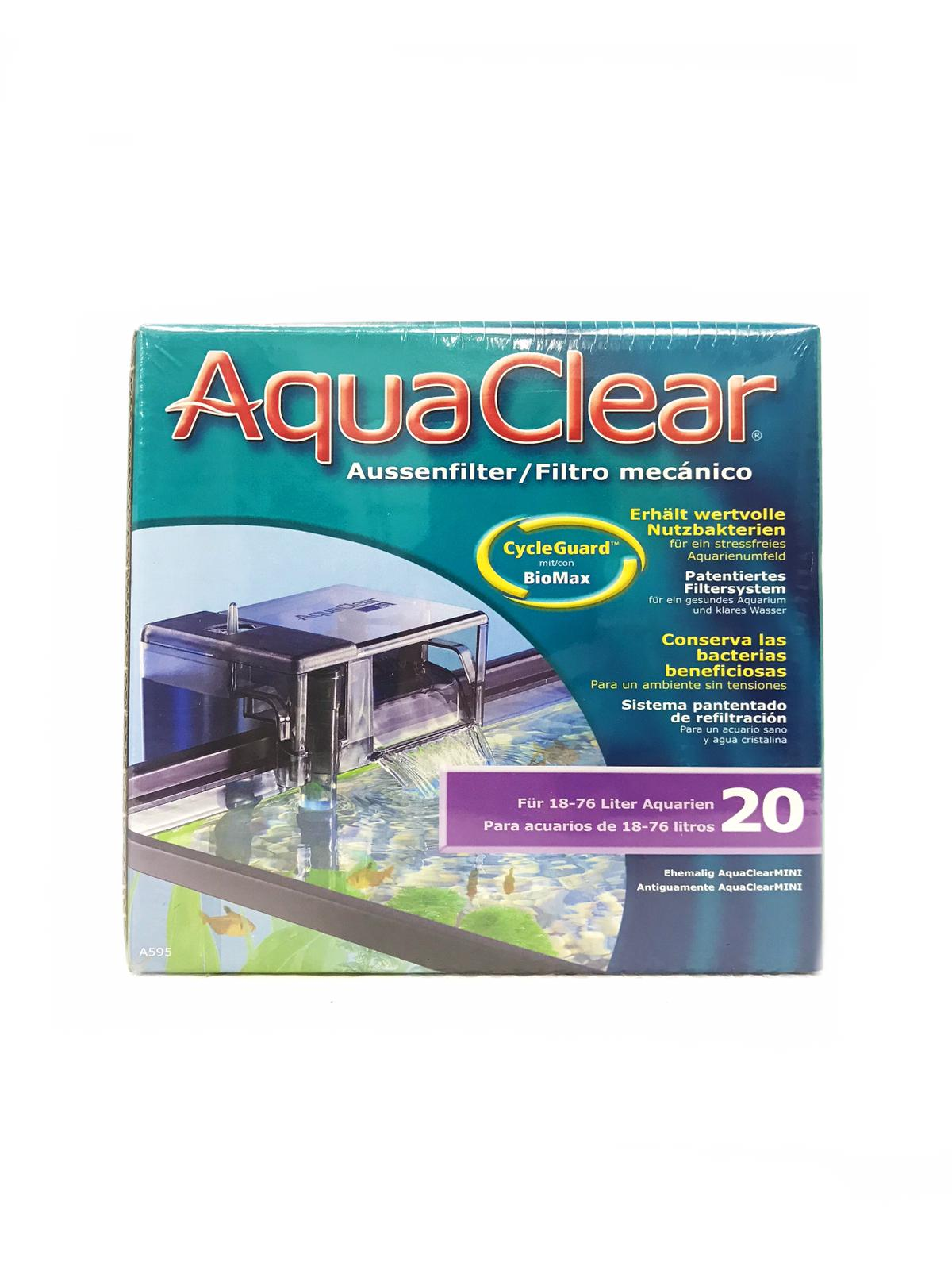AquaClear Hang On Filter 20