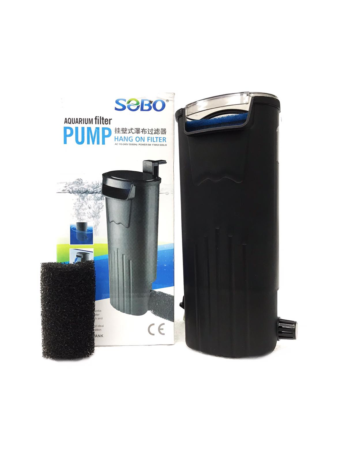 Sobo Aquarium Hang On Filter (Low Water)