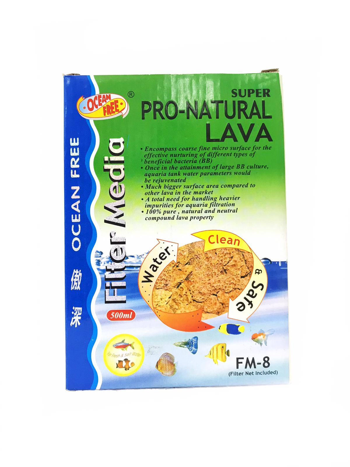 OF Super Pro-Natural Lava FM-8