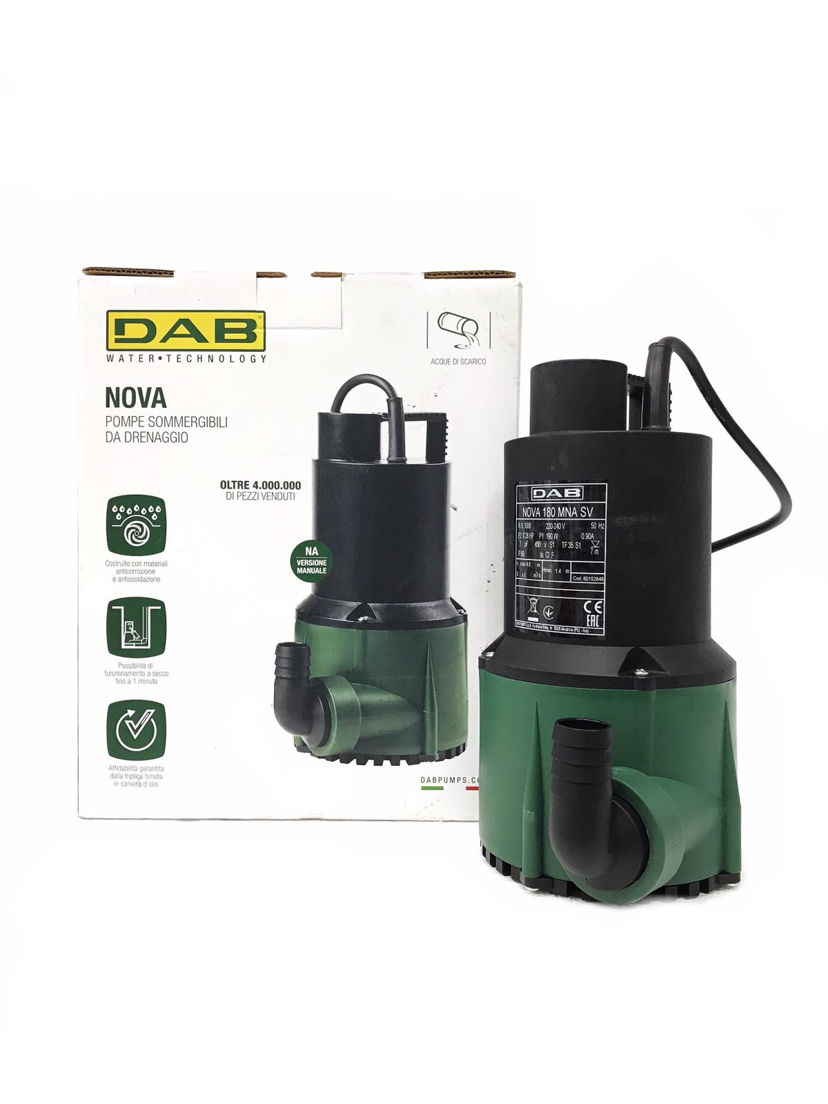 DAB Nova Submersible Pond Pump