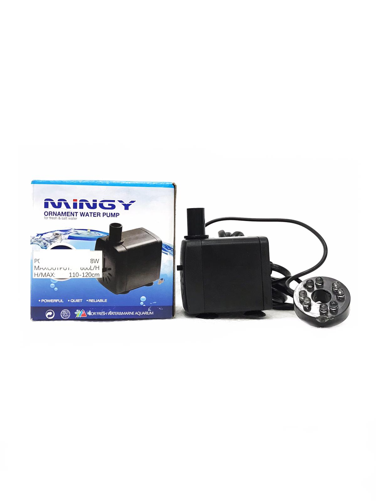 Mingy Ornament Water Pump With Light