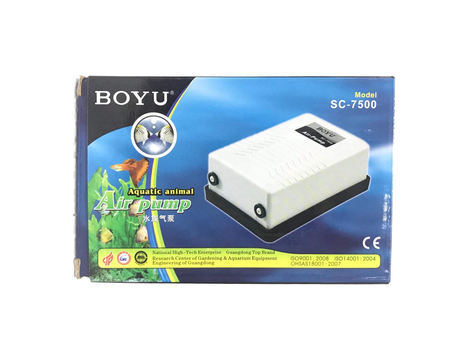 Boyu Aquatic Animal Air Pump SC-7500
