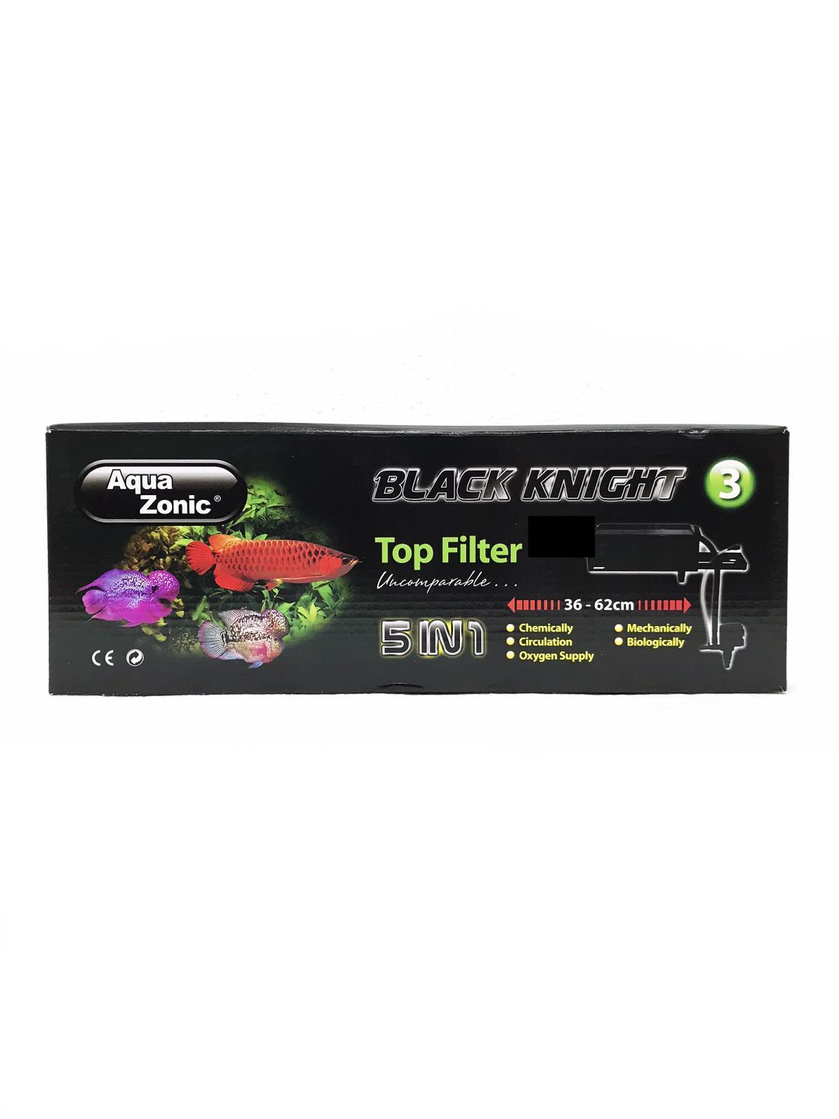 Aqua Zonic Black Knight Top Filter