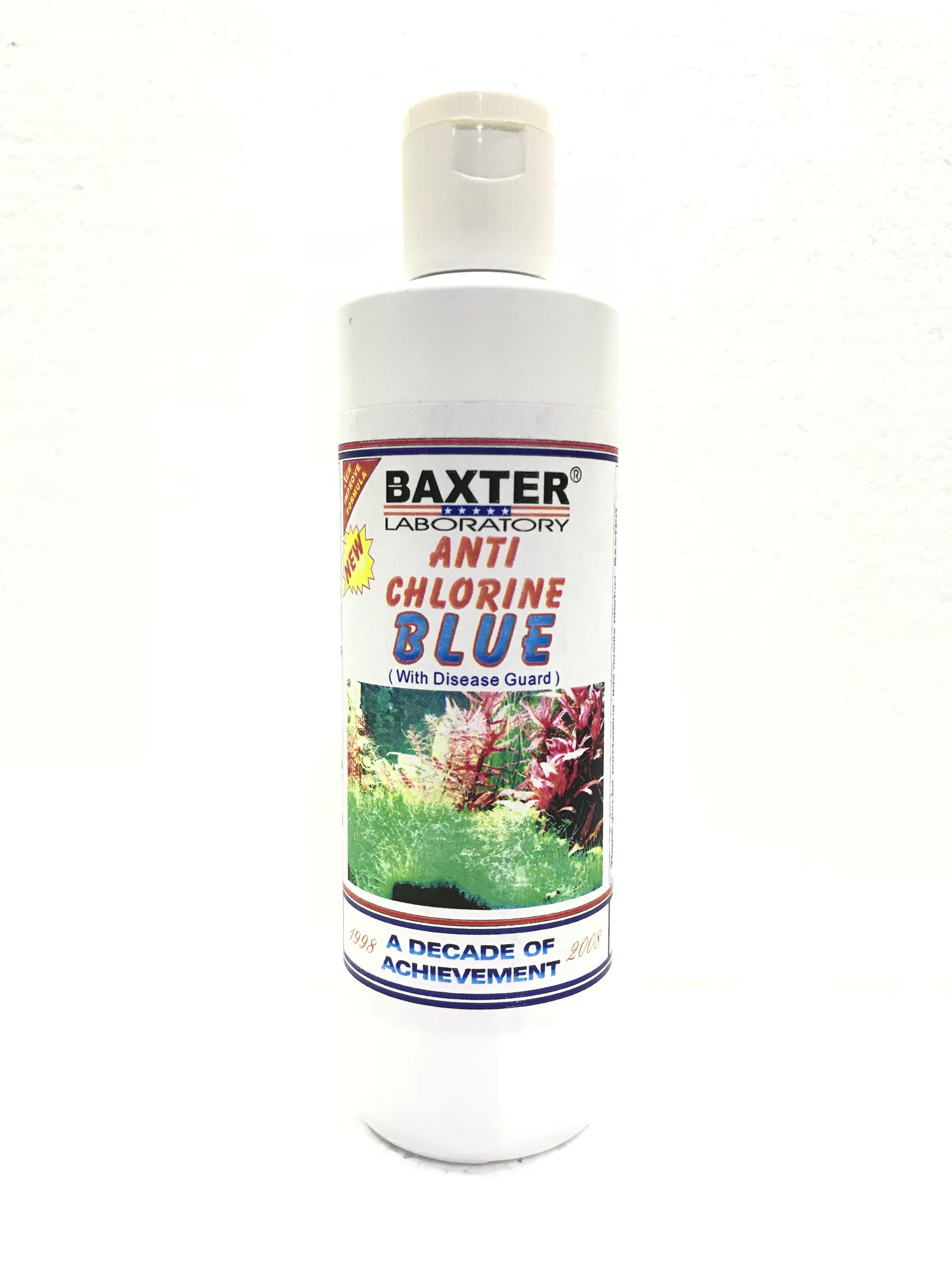 Baxter Anti-Chlorine Blue (With Disease Guard)