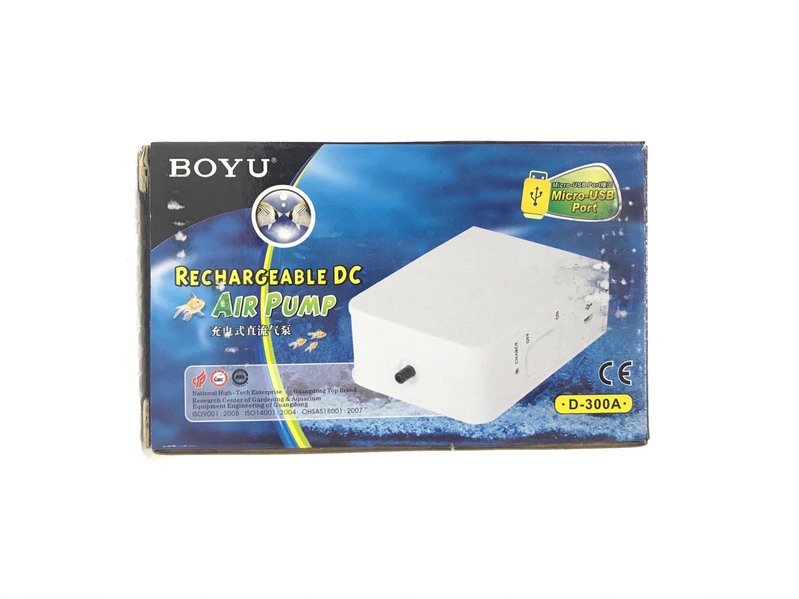 Boyu Rechargeable DC Air Pump D-300A