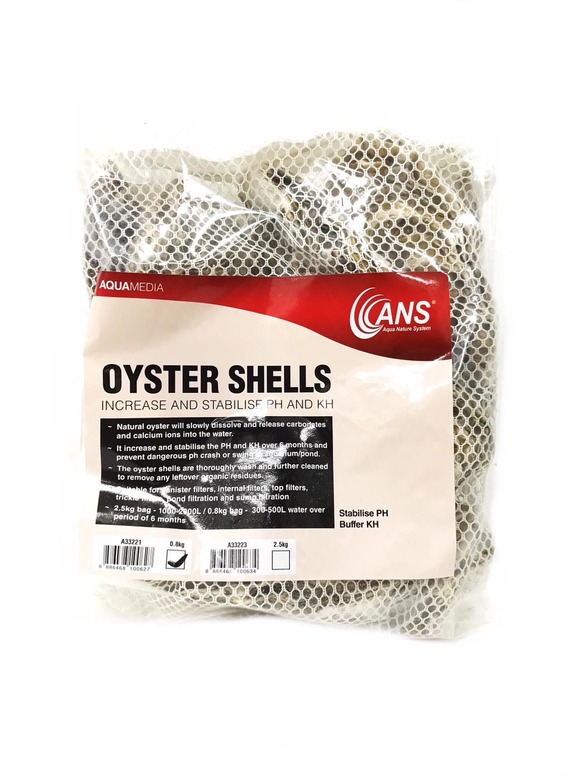 Ans Oyster Shell XL (PH Stabilizing Usage)