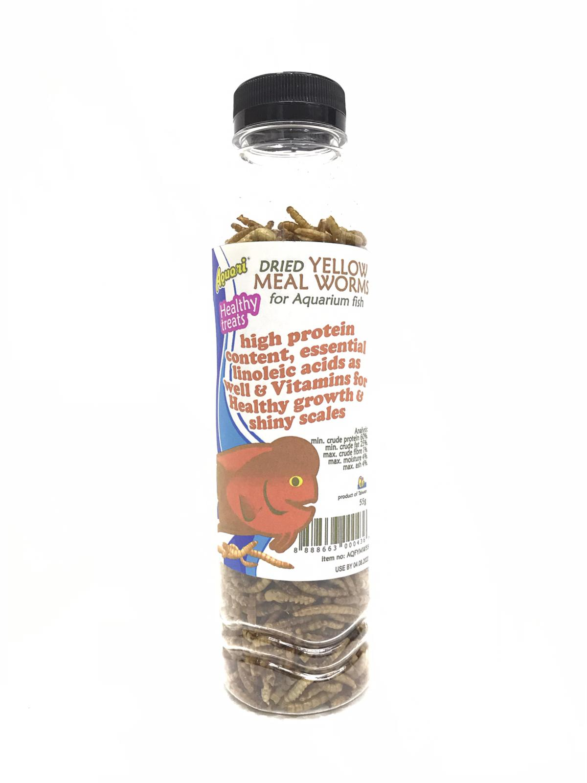 Aquori Yellow Meal Worms For Fish