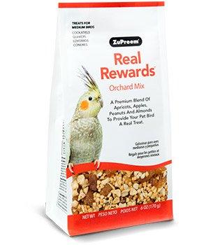 Zupreem Real Rewards Orchard Mix Treats