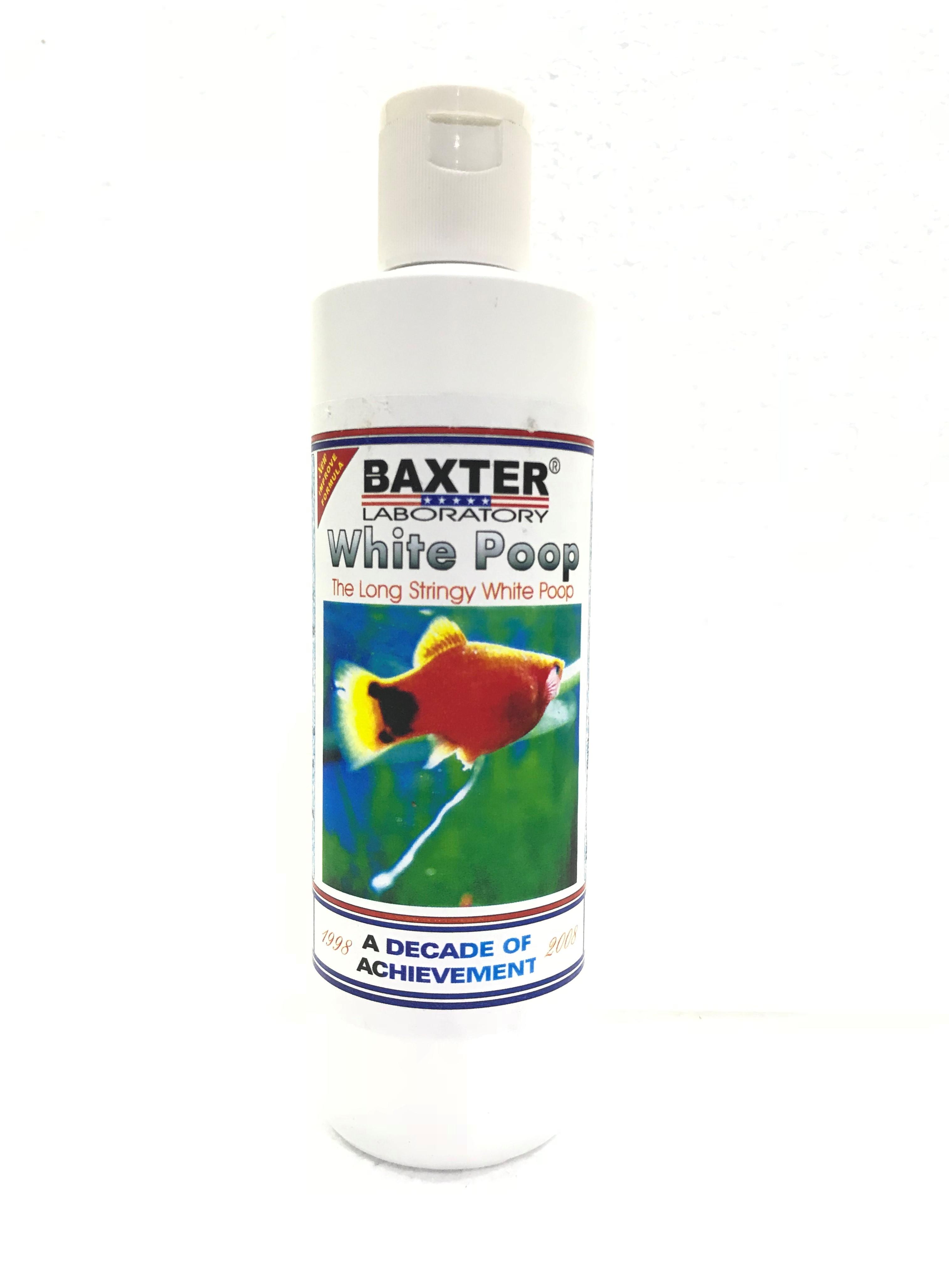 Baxter White Poop